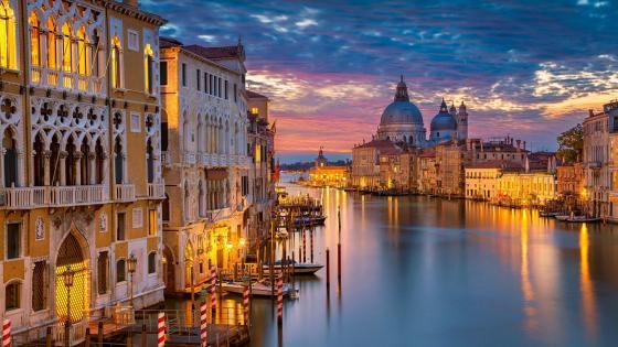 Venice & Grand Canal wallpaper