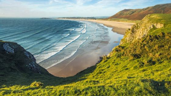 Rhossili Bay (South Wales) wallpaper