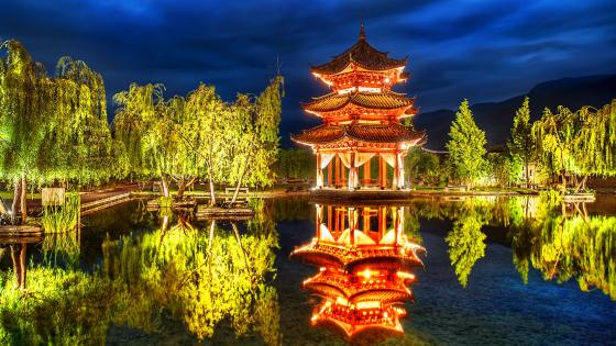 Chinese Pagoda wallpaper