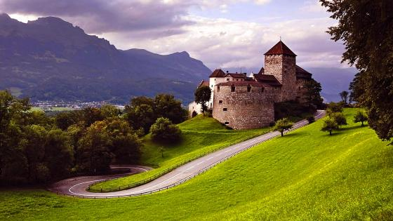Vaduz Castle (Liechtenstein) wallpaper