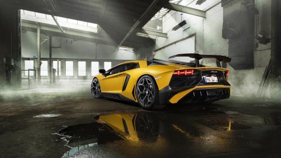 Lamborghini Aventador SV wallpaper