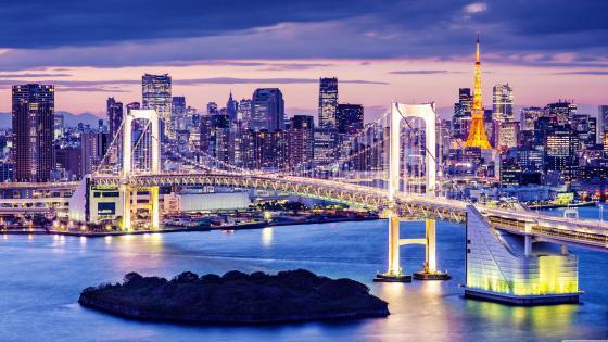 Rainbow Bridge (Japan) wallpaper