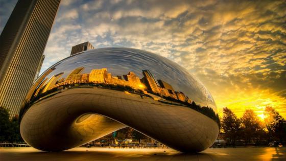 Chicago Bean wallpaper
