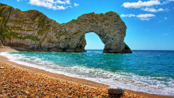 Durdle Door & Lulworth Cove wallpaper