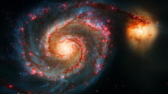 Whirlpool Galaxy (Messier 51) wallpaper