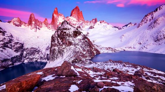 Mount Fitz Roy (Cerro Chaltén) wallpaper