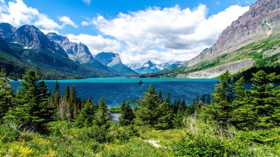 Saint Mary Lake (Glacier National Park) wallpaper