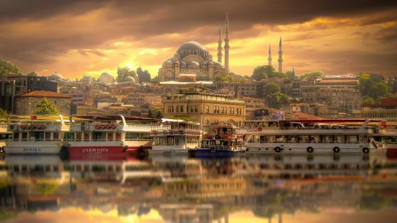 Suleymaniye Mosque (Istanbul) wallpaper