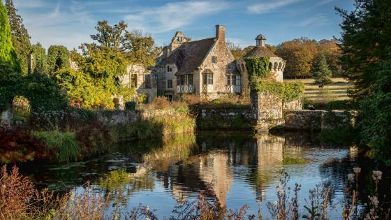 Scotney Castle (England) wallpaper