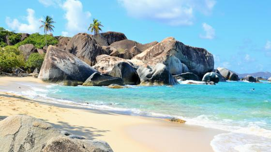 The Bath - British Virgin Islands wallpaper