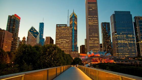 Nichols Bridgeway (Chicago) wallpaper