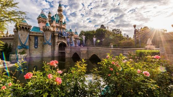 Sleeping Beauty Castle wallpaper