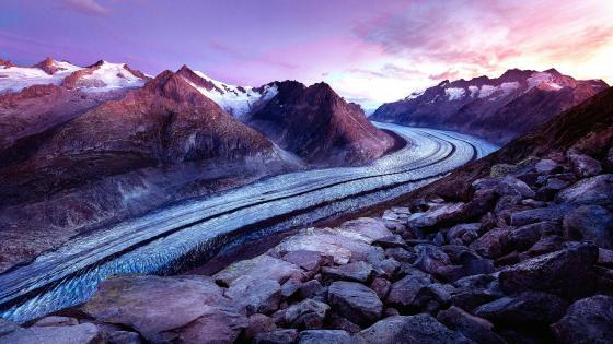 Bettmerhorn – Aletsch Glacier wallpaper