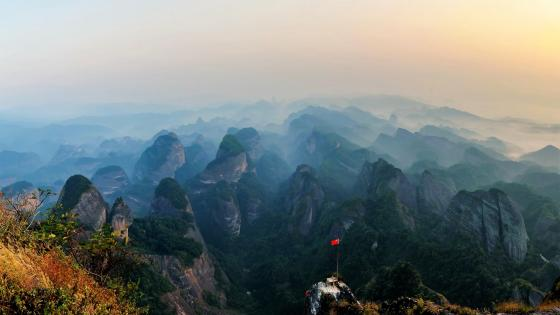 Lang Mountains (Lang Shan) wallpaper