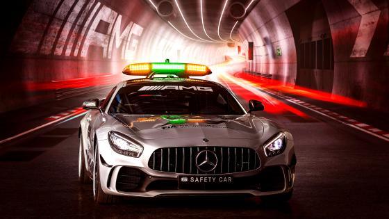 Mercedes AMG GT R F1 Safety Car wallpaper