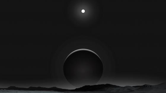 Black planet wallpaper