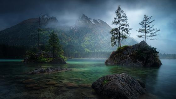 Hintersee (Ramsau) wallpaper
