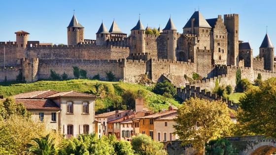 Château Comtal (Carcassonne, France) wallpaper
