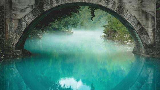Under the bridge wallpaper