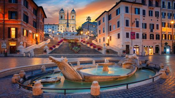 Spanish Steps (Rome, Italy) wallpaper