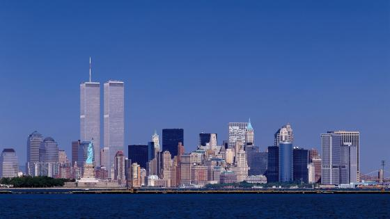 New York Twin Towers wallpaper