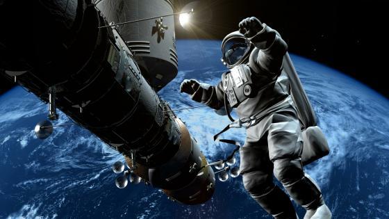 Astronaut - Space art wallpaper