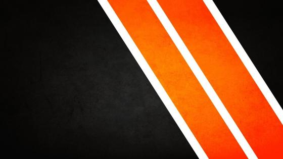 Orange Lines wallpaper