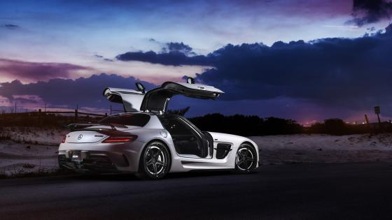 Mercedes SLS AMG Coupe wallpaper