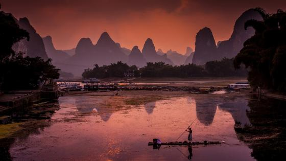 Li River wallpaper
