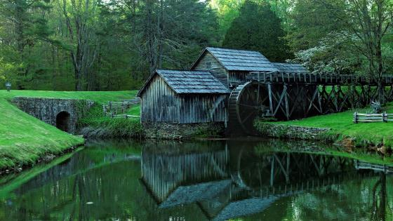Mabry Mill (Blue Ridge Parkway) wallpaper