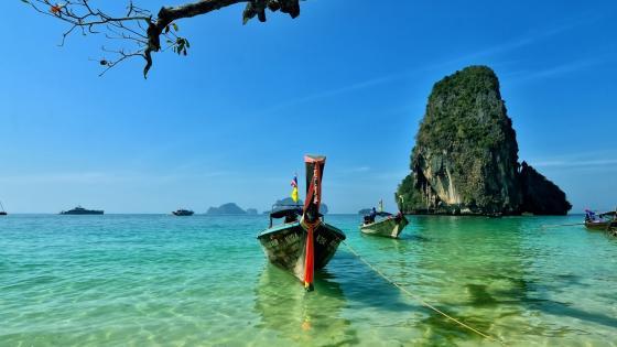 Phra Nang Beach (Thailand) wallpaper
