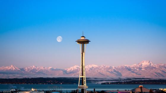 Space Needle, Seattle wallpaper