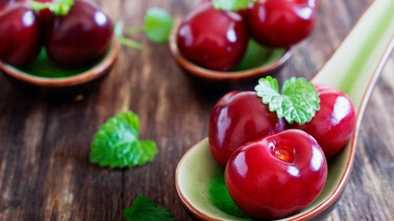 Cherry fruit wallpaper
