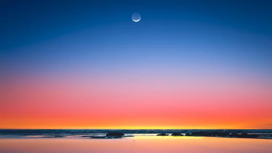 Colorful horizon wallpaper