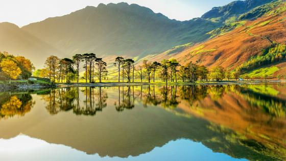Buttermere Lake (Cumbria) wallpaper