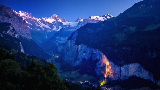 Lauterbrunnen, Switzerland wallpaper