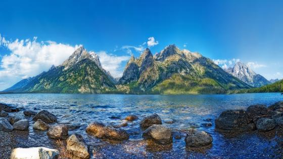 Jenny Lake (Grand Teton National Park) wallpaper