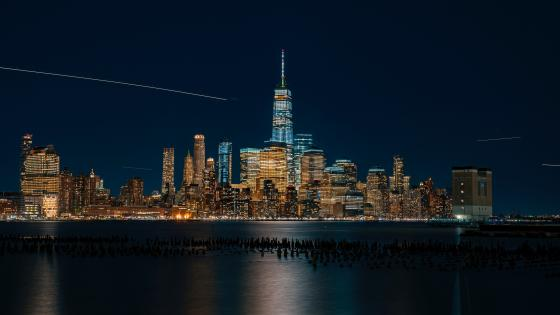 One World Trade Center from Upper Bay wallpaper