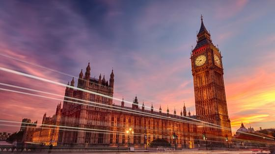 Big Ben long exposure photo wallpaper