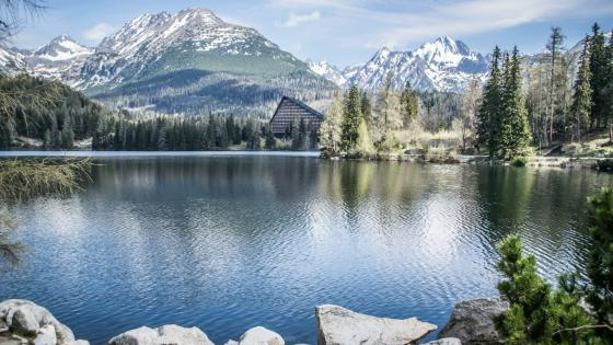Strbske Pleso Lake wallpaper