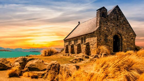 Church of the Good Shepherd (New Zealand) wallpaper