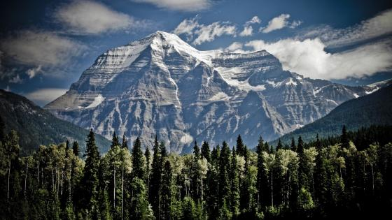 Mount Robson (Canadian Rockies) wallpaper
