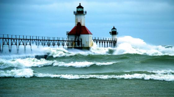 St. Joseph Lighthouses wallpaper