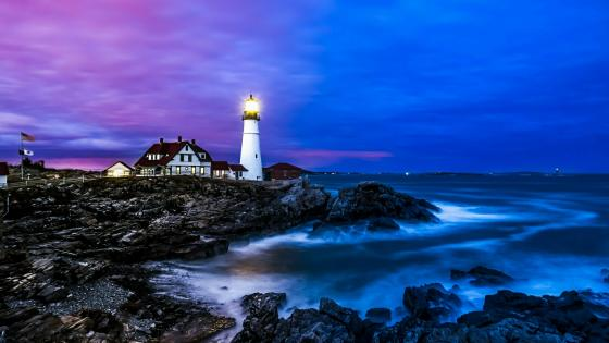 Portland Head Light wallpaper