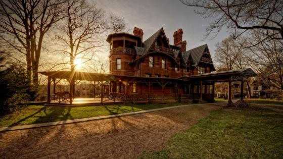 The Mark Twain House and Museum in Hartford, Connecticut wallpaper
