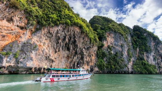 Phang Nga Bay boat trip wallpaper