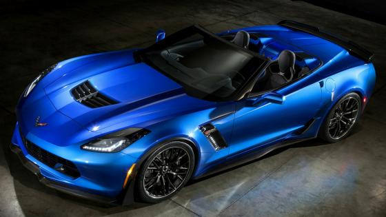 2015 Chevrolet Corvette Z06 cabriolet wallpaper