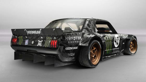 Hoonigan 1965 Ford Mustang wallpaper