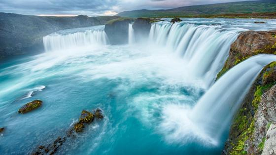 Godafoss (Iceland) wallpaper
