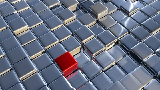 3D Puzzle cube wallpaper
